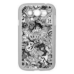 Halloween Pattern Samsung Galaxy Grand Duos I9082 Case (white)
