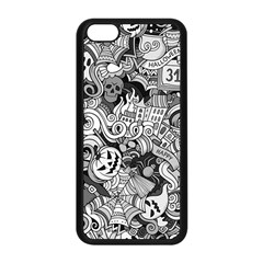 Halloween Pattern Apple Iphone 5c Seamless Case (black)