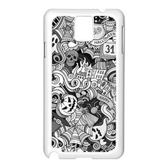 Halloween Pattern Samsung Galaxy Note 3 N9005 Case (white)