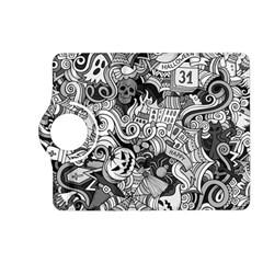 Halloween Pattern Kindle Fire Hd (2013) Flip 360 Case