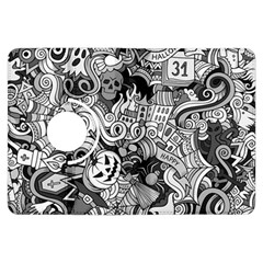 Halloween Pattern Kindle Fire Hdx Flip 360 Case
