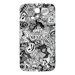 Halloween Pattern Samsung Galaxy Mega I9200 Hardshell Back Case
