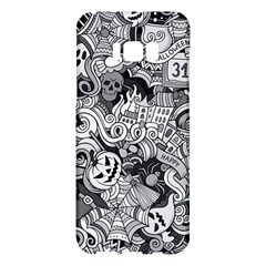 Halloween Pattern Samsung Galaxy S8 Plus Hardshell Case