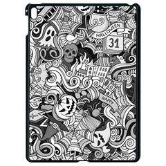 Halloween Pattern Apple Ipad Pro 9 7   Black Seamless Case