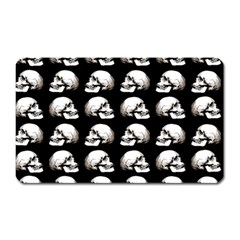 Halloween Skull Pattern Magnet (rectangular)