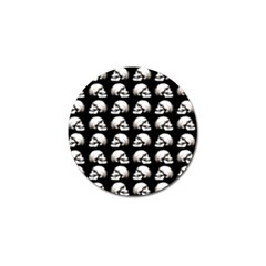 Halloween Skull Pattern Golf Ball Marker (4 Pack)