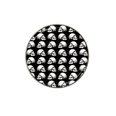 Halloween Skull Pattern Hat Clip Ball Marker (4 Pack)