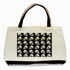 Halloween Skull Pattern Basic Tote Bag