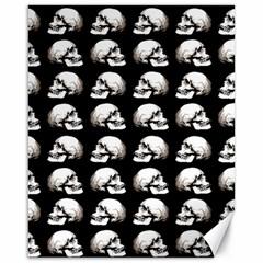 Halloween Skull Pattern Canvas 16  X 20