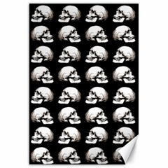 Halloween Skull Pattern Canvas 20  X 30