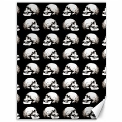 Halloween Skull Pattern Canvas 36  X 48