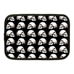 Halloween Skull Pattern Netbook Case (medium)