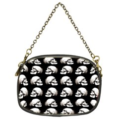 Halloween Skull Pattern Chain Purses (one Side)