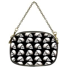 Halloween Skull Pattern Chain Purses (two Sides)
