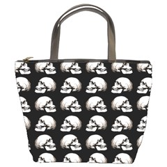 Halloween Skull Pattern Bucket Bags