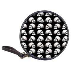 Halloween Skull Pattern Classic 20 Cd Wallets
