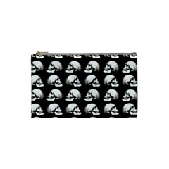 Halloween Skull Pattern Cosmetic Bag (small)