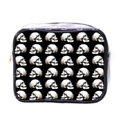 Halloween Skull Pattern Mini Toiletries Bags