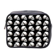Halloween Skull Pattern Mini Toiletries Bag 2 Side