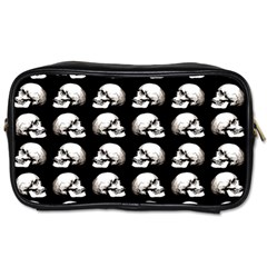 Halloween Skull Pattern Toiletries Bags