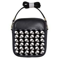 Halloween Skull Pattern Girls Sling Bags