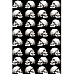Halloween Skull Pattern 5 5  X 8 5  Notebooks