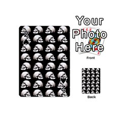 Halloween Skull Pattern Playing Cards 54 (mini)