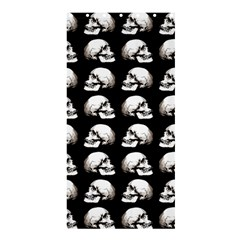 Halloween Skull Pattern Shower Curtain 36  X 72  (stall)