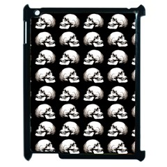 Halloween Skull Pattern Apple Ipad 2 Case (black)