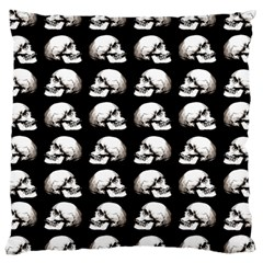 Halloween Skull Pattern Large Cushion Case (one Side)