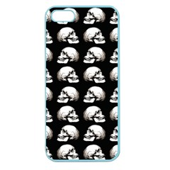 Halloween Skull Pattern Apple Seamless Iphone 5 Case (color)