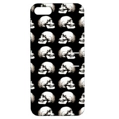 Halloween Skull Pattern Apple Iphone 5 Hardshell Case With Stand