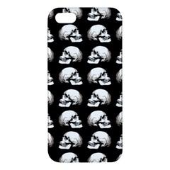 Halloween Skull Pattern Apple Iphone 5 Premium Hardshell Case