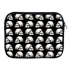 Halloween Skull Pattern Apple Ipad 2/3/4 Zipper Cases