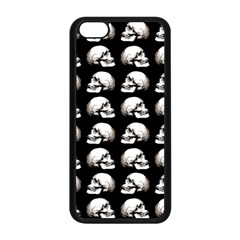Halloween Skull Pattern Apple Iphone 5c Seamless Case (black)