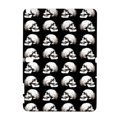 Halloween Skull Pattern Galaxy Note 1