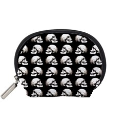 Halloween Skull Pattern Accessory Pouches (small)