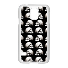 Halloween Skull Pattern Samsung Galaxy S5 Case (white)