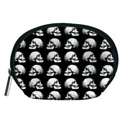 Halloween Skull Pattern Accessory Pouches (medium)