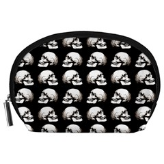 Halloween Skull Pattern Accessory Pouches (large)