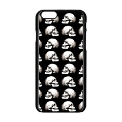 Halloween Skull Pattern Apple Iphone 6/6s Black Enamel Case