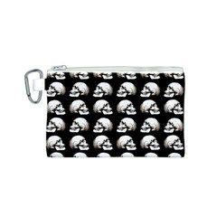 Halloween Skull Pattern Canvas Cosmetic Bag (s)