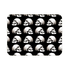 Halloween Skull Pattern Double Sided Flano Blanket (mini)