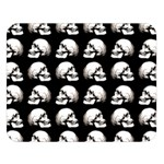 Halloween skull pattern Double Sided Flano Blanket (Large)  80 x60 Blanket Front
