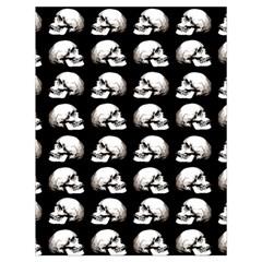 Halloween Skull Pattern Drawstring Bag (large)
