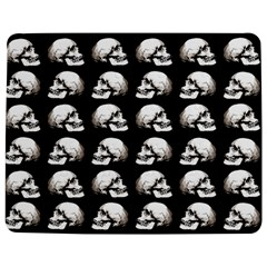 Halloween Skull Pattern Jigsaw Puzzle Photo Stand (rectangular)