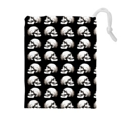 Halloween Skull Pattern Drawstring Pouches (extra Large)