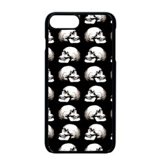 Halloween Skull Pattern Apple Iphone 7 Plus Seamless Case (black)