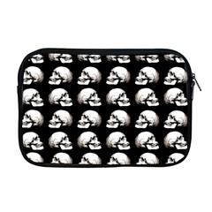 Halloween Skull Pattern Apple Macbook Pro 17  Zipper Case