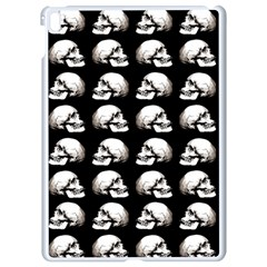 Halloween Skull Pattern Apple Ipad Pro 9 7   White Seamless Case